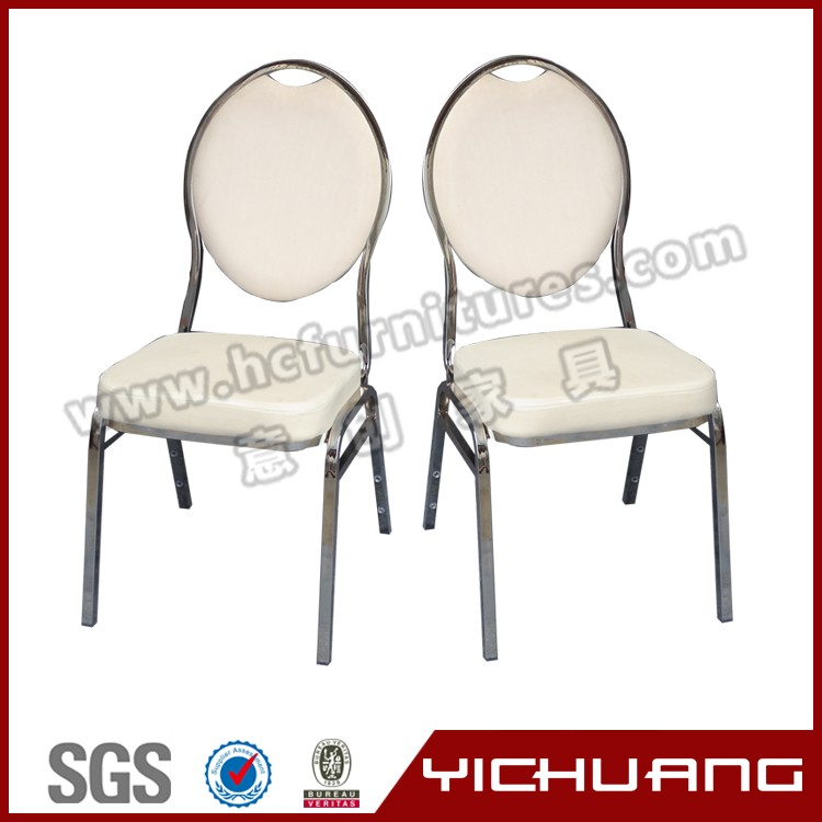 reliable factory metal dining stackable chair YCX-ZL02
