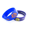 "promotional 8"" debossed wristband /customize silicone bracelet/custom logo silicone band"
