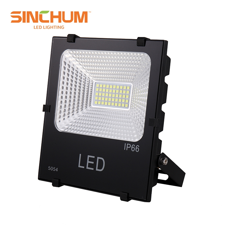 Zhongshan Fish Scale Reflector Outdoor 50W Led Flood Light For Garden