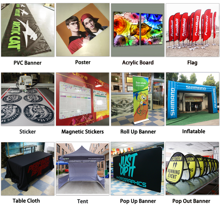 High quality clear acrylic sheet UV printing with customized picture and size