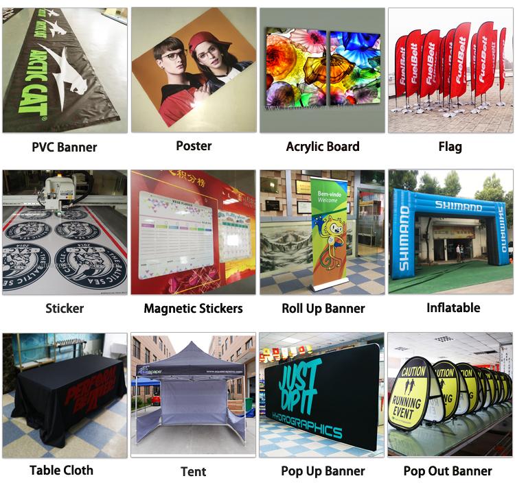 Großhandel Professionelle Digitale acryl zeichen boards uv druck für werbung