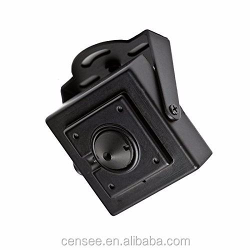 "Best Mini Camera 1/3"" SONY CCD 700TVL Color Security Mini Square Housing Hidden Camera"