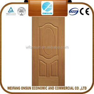 wholesale stable quality veneer facing door skin in sale