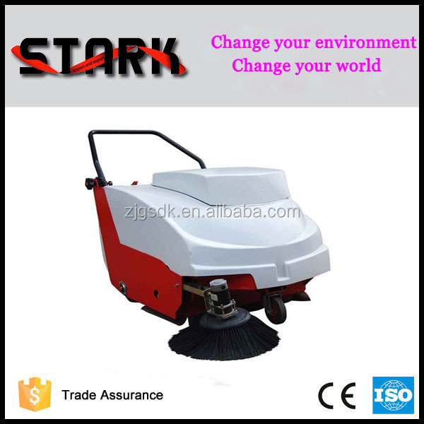 700 industrial walk behind manual floor sweeper pavement street sweeper
