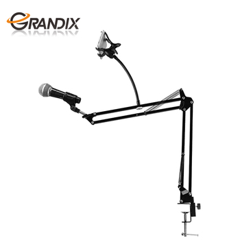 Manufacturer Desktop Mic Stand Swivel Mount Studio Microphone Boom