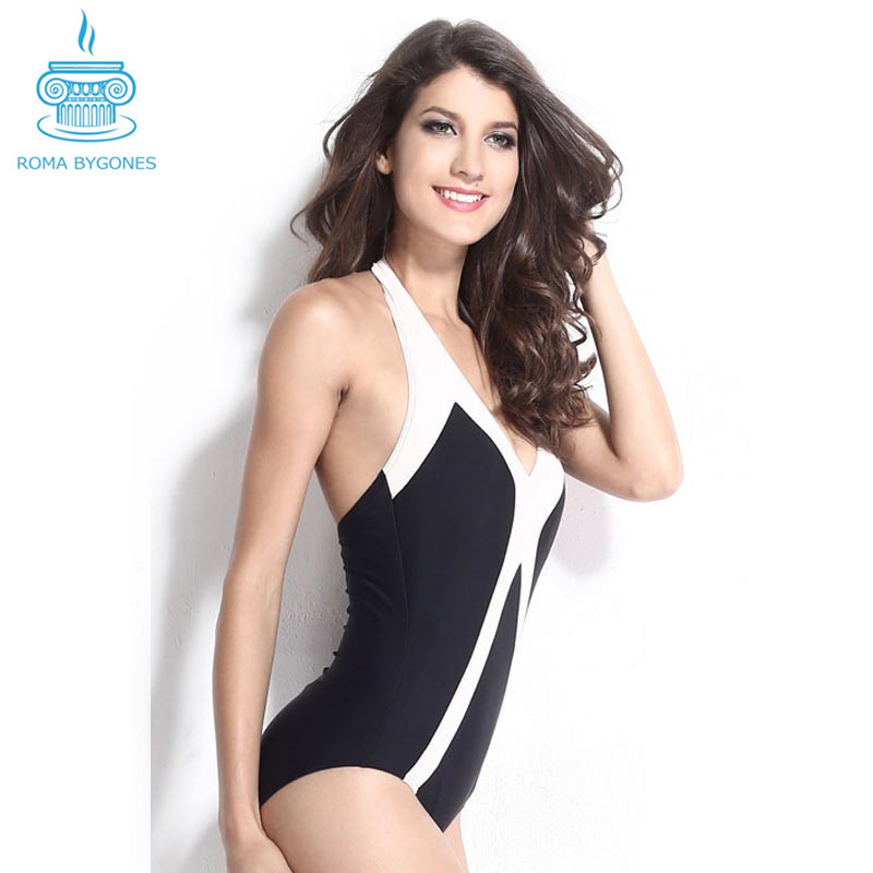 f05969456f Get Quotations · New 2015 Brand Thong One Piece Swimwear Backless Swimsuit  Triangl Beachwear Womens Swim Wear Sexy Trikinis