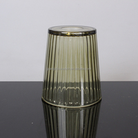 wholesale cheap home goods italian cone shaped green decorative lamp shades for table lamps