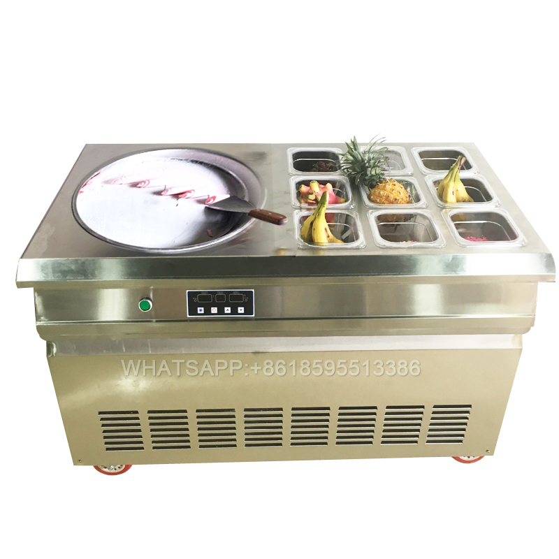 Hot sale single square pan japanese momo fried ice creamfry ice pan hot sale single square pan japanese momo fried ice cream fry ice pan machine ccuart Image collections