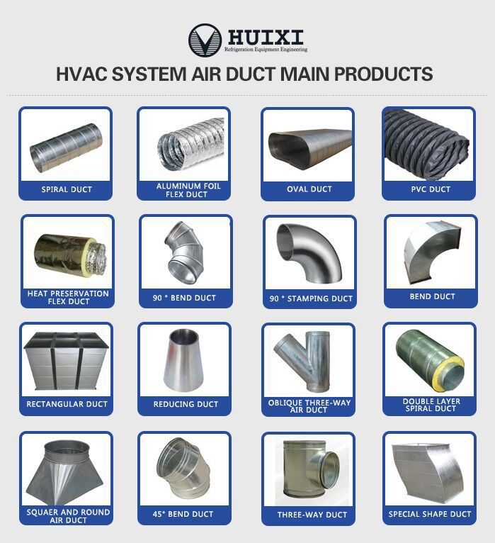 Hvac System Ducting Sheet Metal Ventilation Air Flow