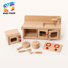 2016 wholesale wooden toy kitchen playsets, top fashion wooden toy kitchen playsets, popular wooden toy kitchen playsets W10C200