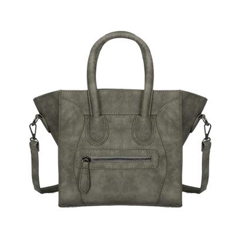 Women Tote Bag Scrub Pu Leather Women Handbags Crossbody Designer Trapeze Messenger Bag