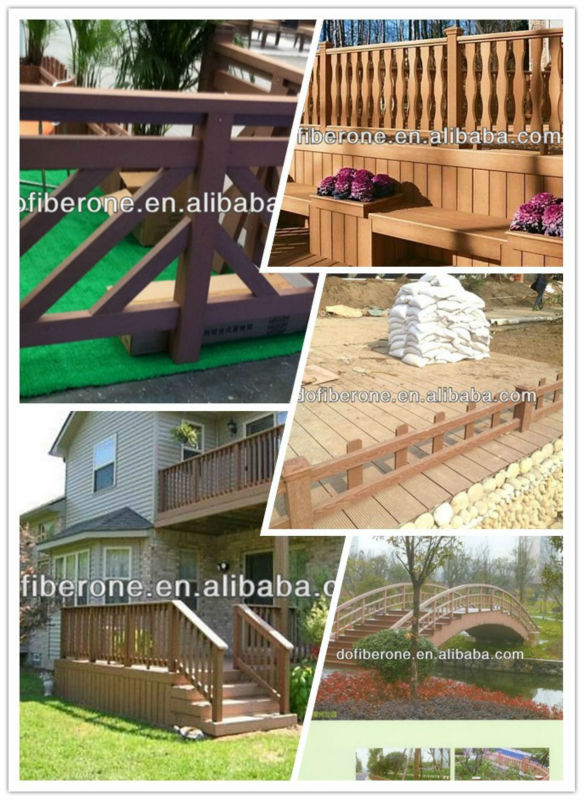 Top products new design wooden composite outdoor wall cladding exterior plastic