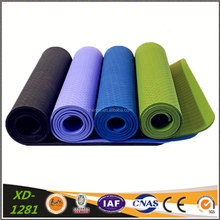 Yoga Mat 6mm Thick Waterproof TPE Non-Slip Pilates Exercise Training Workout