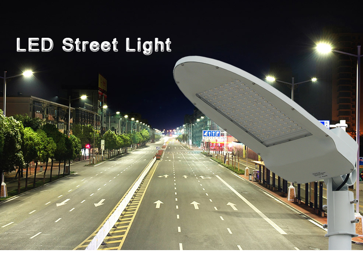 Meanwell Driver high power ip65 outdoor 100w led street light manufacturer