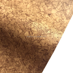 Cork PU Leather Fabric for Mobile Phone Case Shoes Bags