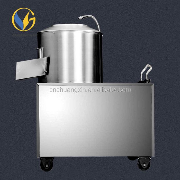220V Kommerziell Kartoffelschälmaschine Kartoffelschäler Kartoffel Schälmaschine