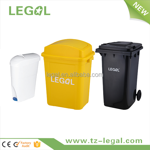 eco-friendly pp sanitary factory supply recycling pedal bin malaysia