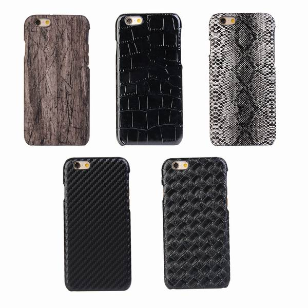 Snake leather Back Cover For iPhone 6, For iPhone 6 PU leather Phone Case