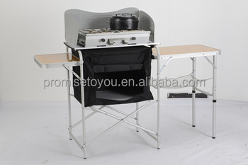 yongkang outdoor aluminum camping kitchen table stand bbq table. beautiful ideas. Home Design Ideas