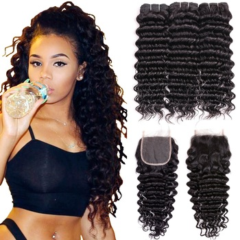 factory wholesale price asteria hair 4 bundles stema hair company 7a deep wave cabelo humano cacheado