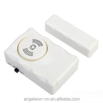 Door Window Entry Alarm Magnetic Sensor Anti Theft Door Safety Home