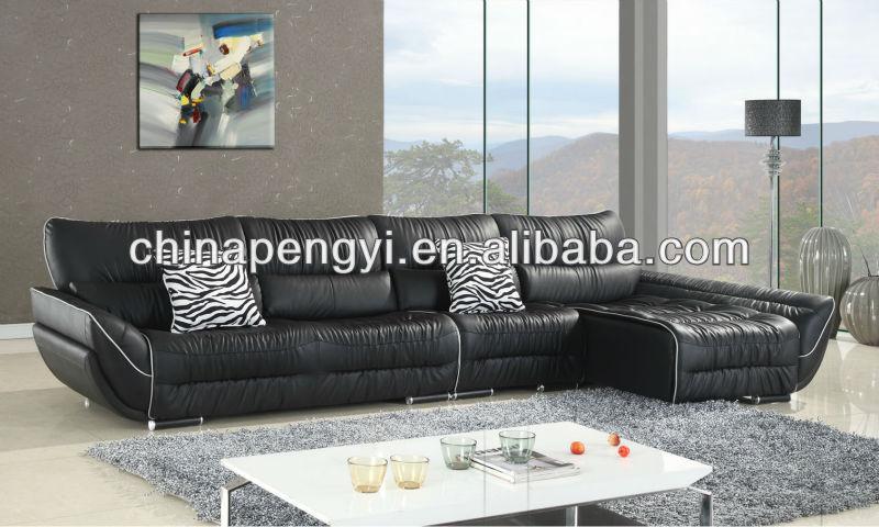 Woonkamer meubels moderne leater sofa hoek sets product id 1060205073 - Meubels set woonkamer eetkamer ...