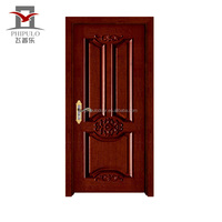 latest design interior pvc wooden doors price from alibaba china supplier