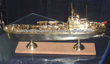Model Boat Ship Old Ship Model Metal Model Ship Antique
