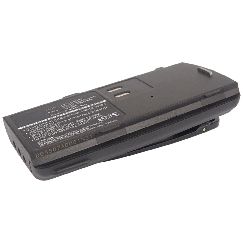Exell 7.5V 2500mAh Li-Ion FRS 2way Radio Battery Motorola AXU4100, AXV5100, BC120, CP125, GP2000, GP2000s, GP2100, P020, PMNN4046, PMNN4046A, PMNN4046R, PMNN4063AR, PMNN4063ARC, PMNN4063BR, SP66