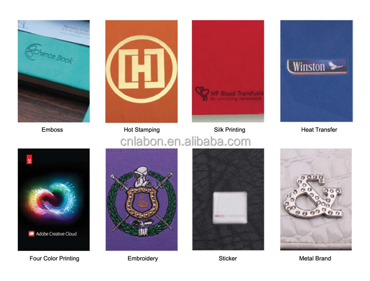 custom Personalized Graph Covered Paper Fabric Journals paper notepad with logo
