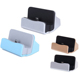 Custom portable Micro USB Charging Dock Android mobile phone Desktop Stand Sync Charger Docking Station