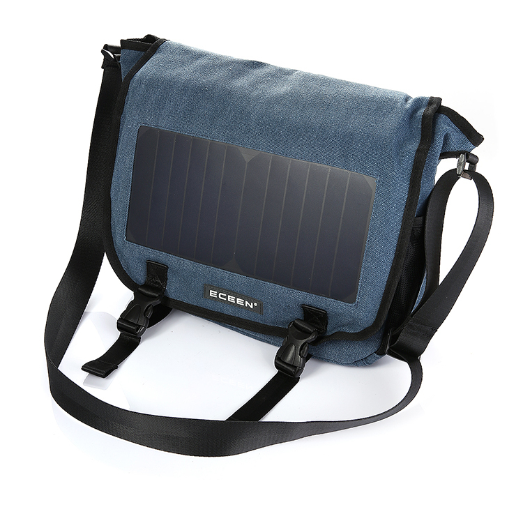 Solar Backpack Solar Charger Back Pack Bag 6.5W sunpower solar leisure bag