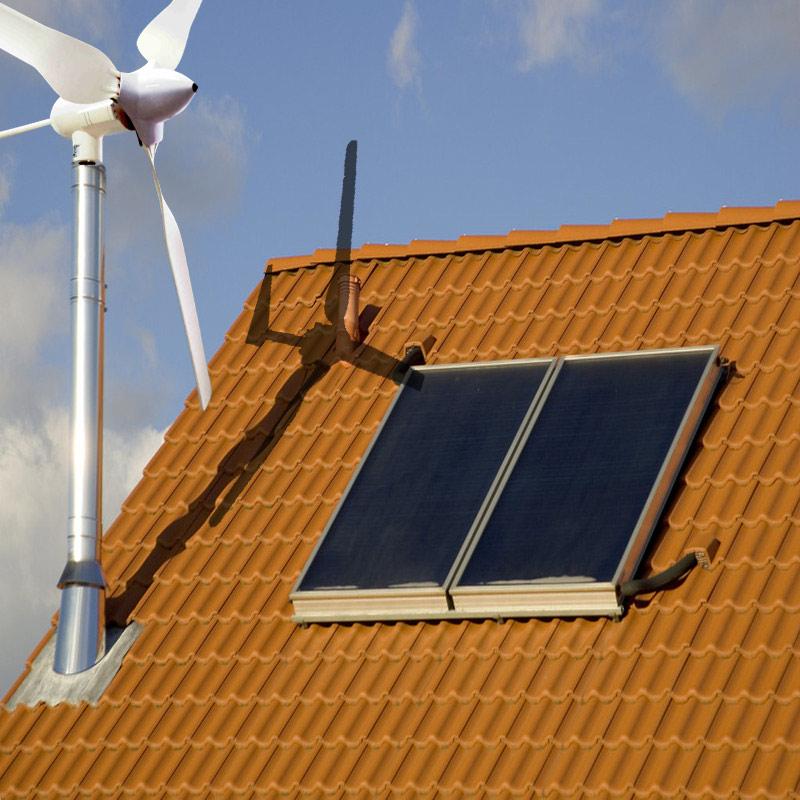 Wind Powered Attic Ventilation : Low speed wind turbine powered roof ventilators buy