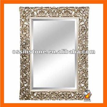 Modern Pu Art Deco Wall Mirror Frame