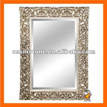 Art Deco Wall Mirror modern pu art deco wall mirror frame - buy art deco mirror frame
