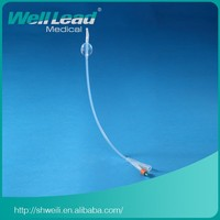 All Silicone Foley Catheter Withtiemann Tip