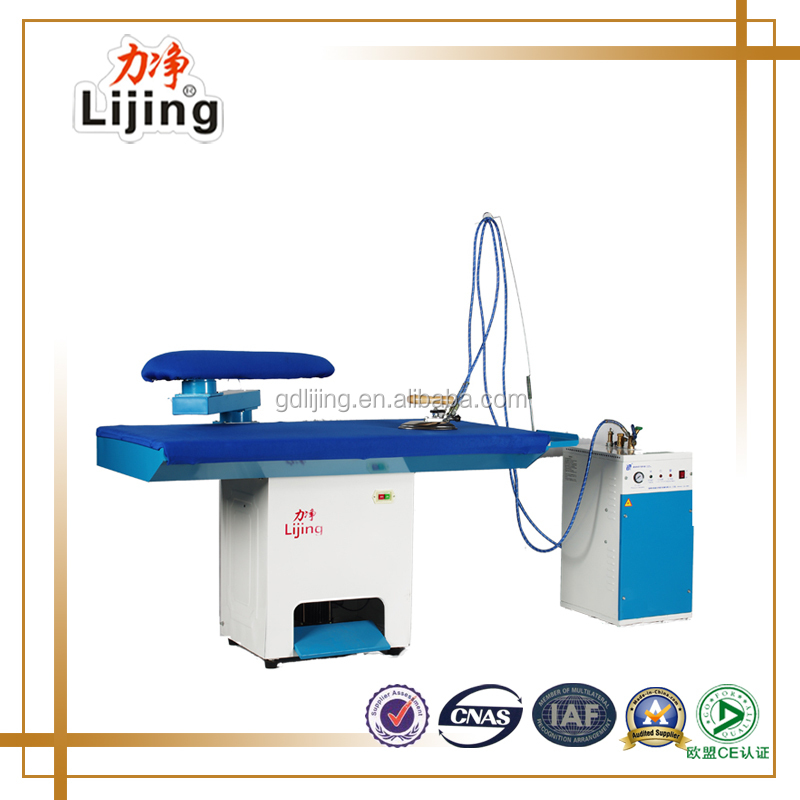 Vacuum ironing board, industrial ironing board, industrial ironing machine clothes