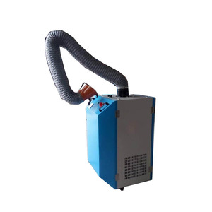 MOBILE PORTABLE WELDING FUME EXTRACTOR WITH IMPULSE COUNTER BLOWING