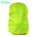 1 PCS Green Backpack raincover 35 45 L Water proof for Hiking Cycling Camping Luggage Bag