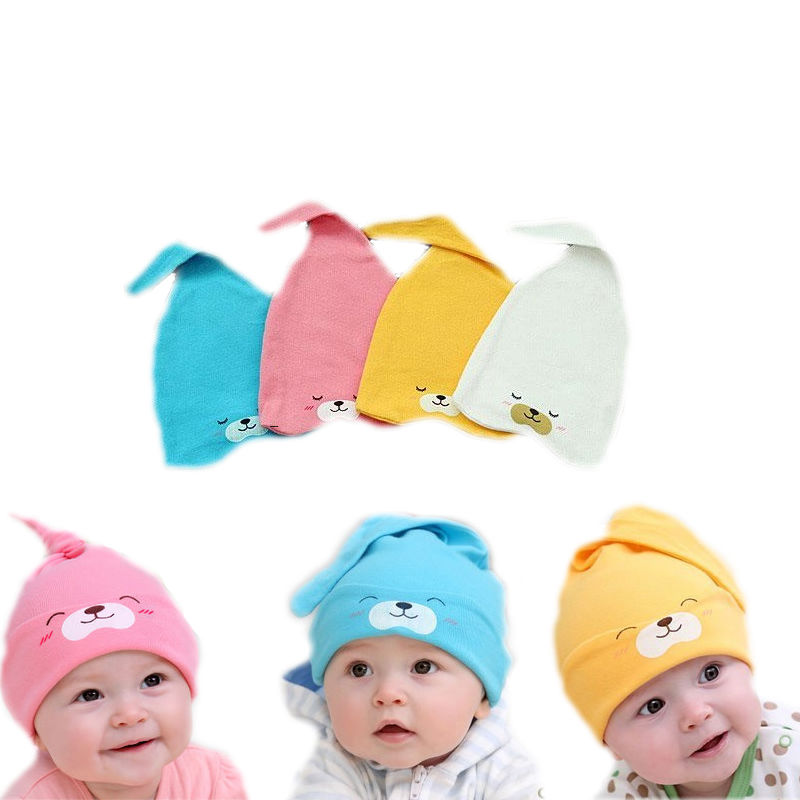 42912fe768cc Buy New Style 2015 Infant Sleep Hat Newborn Beanies Cotton Caps Baby ...
