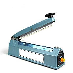 """Buwico® 220 V 3 Sizes /8"""" 200mm/12"""" 300mm/16"""" 400mm /Impulse Sealer for Plastic Film Aluminum Foil Bag Kraft Paper Bag Heating Impulse Sealer, Hand Impulse Sealer (16"""" 400mm)"""