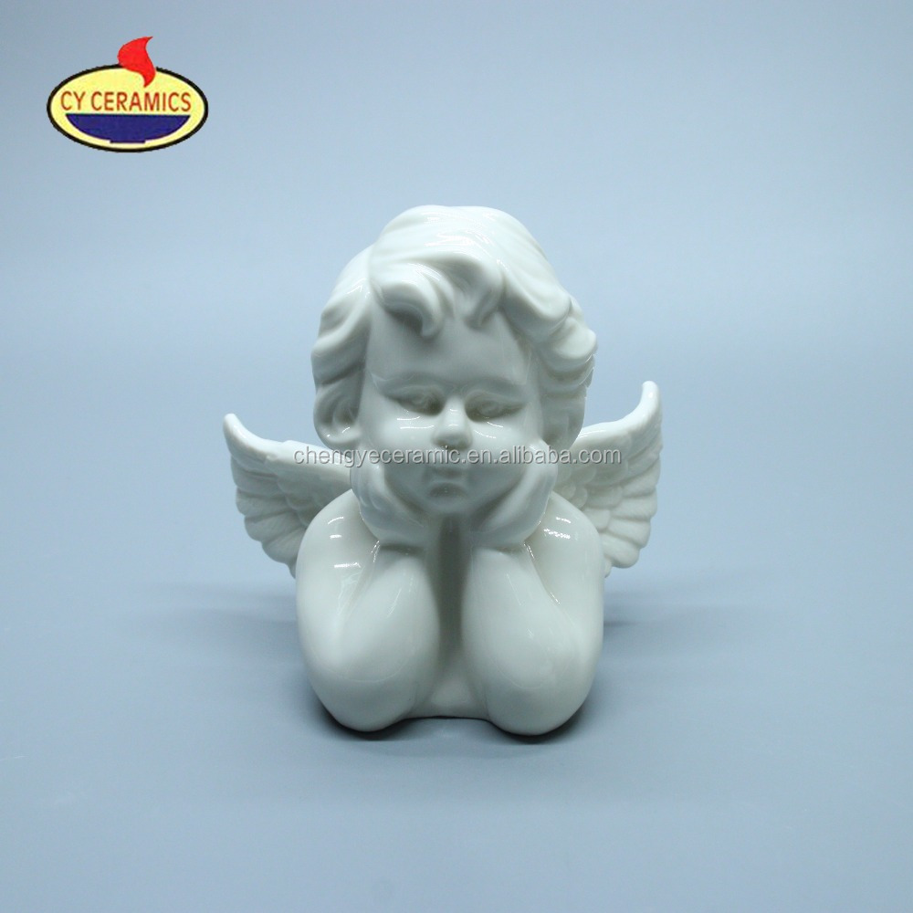 Ceramic Angels and Fairies Figures for Christmas Home Decoration