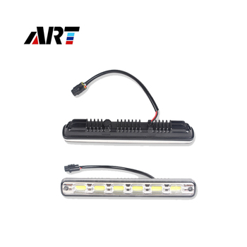 Car Auto Led Tear Eye With Two Colors Yellow White Flexible Led Daytime Running Light