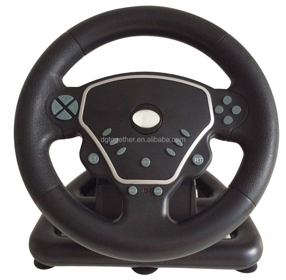 2017 Hot sales steering wheel joystick for pc ps2 ps3