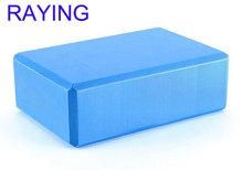 wholesale Raying high density eva foam yoga block blue
