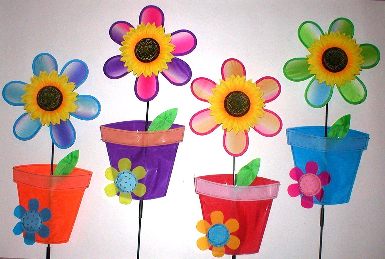 Buy Wholesale Lot 15 Jumbo Garden Yard Lawn Wind Spinners Pinwheels ...