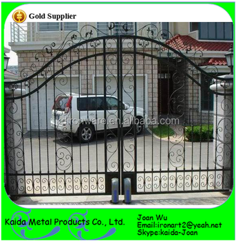 Simple Wrought Iron Gates Design For Home/Garden, View wrought ...