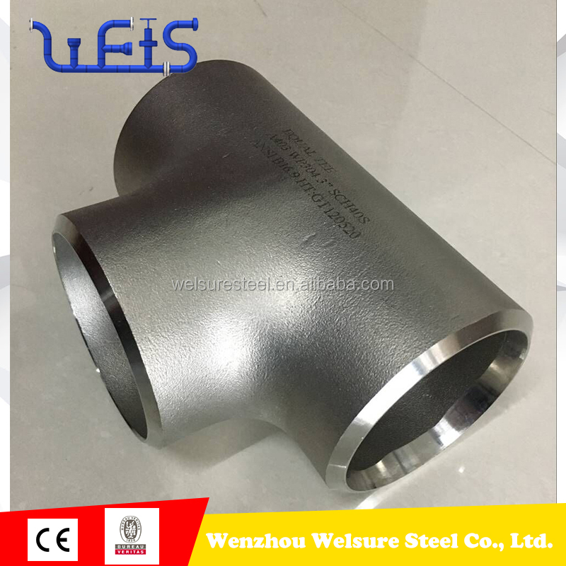 3 inch 6 inch stainless steel equal tee split tee