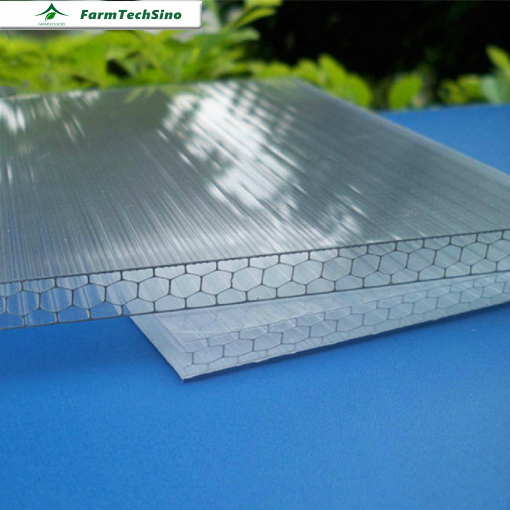 Cheap Price Plastic Polycarbonate Roofing Sheet In Asia