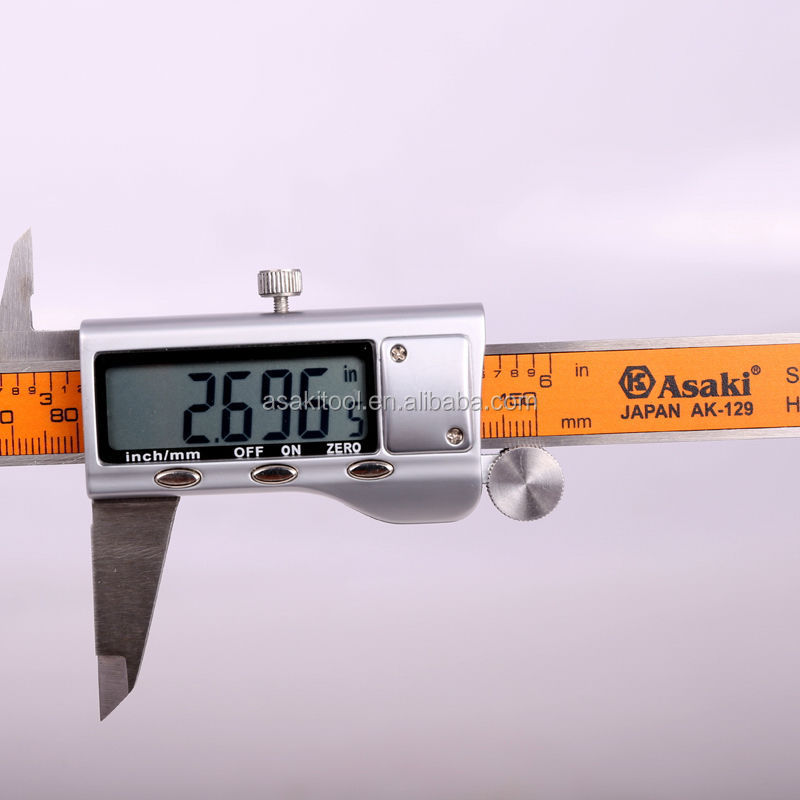 AK-2910 Promotion Digital Electronic Vernier Caliper With Large Screen